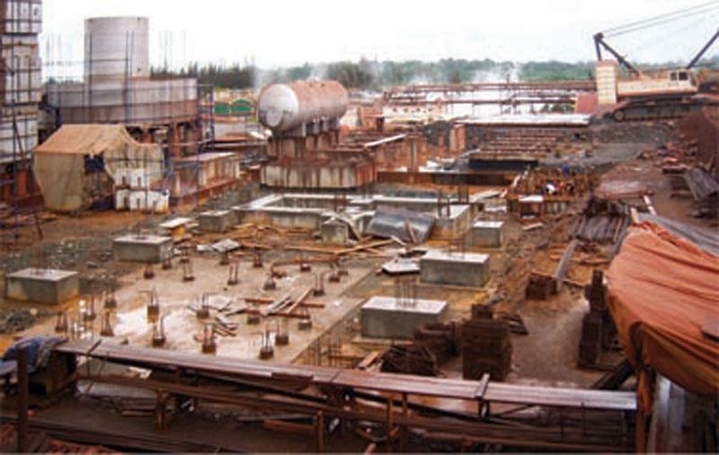 2000 MTPD SULPHURIC ACID PLANT - PERA Construction